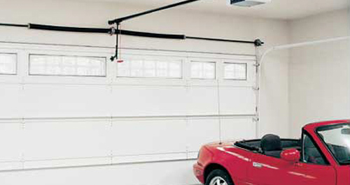 Garage opener installation and complete door replacement - Services